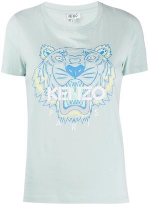 Kenzo tiger logo-print T-shirt
