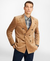 Brooks Brothers Regent Fit Double-Breasted Corduroy Sport Coat