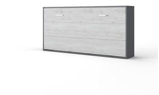 Orren Ellis Northam Horizontal Murphy Bed with Mattress Size: Twin