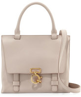 Derek Lam 10 Crosby Mini Ave A Leather Satchel Bag, Neutral