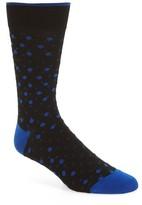 Bugatchi Men's Polka Dot Socks