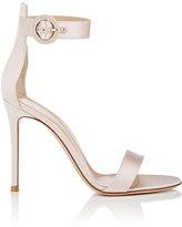 Gianvito Rossi Women's Portofino Satin Ankle-Strap Sandals