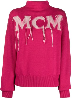 MCM Knitted Logo Jumper
