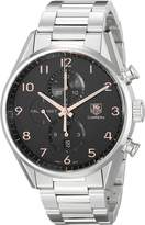 Tag Heuer Men's CAR2014.BA0799 Carrera Analog Display Swiss Automatic Silver Watch