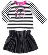 Betsey Johnson Girls' 2pc Skirt Set.
