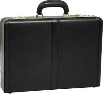 McKlein McKleinUSA Reagan Leather 3.5 Attach Briefcase