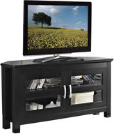 Asstd National Brand Beckert 44 Black Wood Corner Entertainment Center