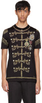 Dolce & Gabbana Black Knight T-Shirt