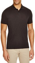Vince Slub Knit Slim Fit Polo Shirt
