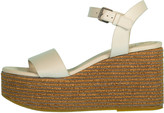 Brunello Cucinelli Monili Embroidered Raffia Flatform