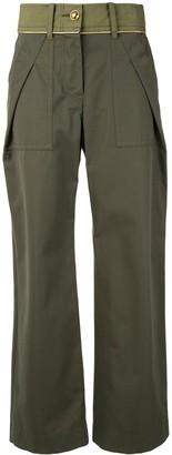 Sacai Wide-Leg Trousers