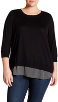Susina Long Sleeve Pullover (Plus Size)