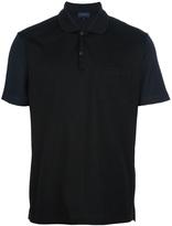 Lanvin striped polo shirt