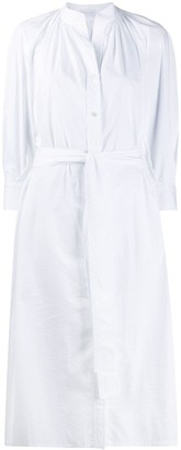 Harris Wharf London belted shirt dress