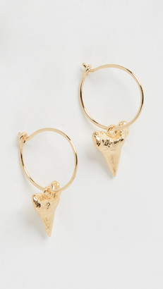 Anni Lu Bite Me Hoop Earrings