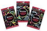 Melissa & Doug ; Scratch Art Activity Kits Set - Rainbow, Dinosaur, and S...