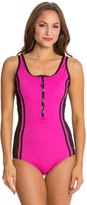 Speedo Fitness Front Zip One Piece 8121931
