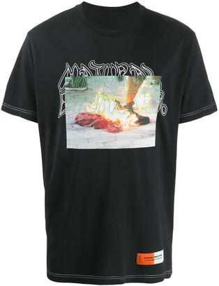 Heron Preston photo print T-shirt