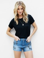 Paige Rosie HW x Collection Babes Short - Fleur Embellished