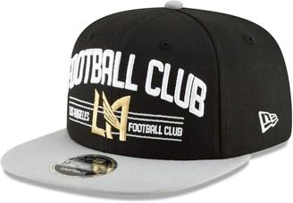 New Era LAFC Satin Two-Tone 9FIFTY Snapback Adjustable Hat - Black/Gray