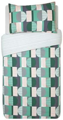Argos Home Geo Squares Printed Bedding Set