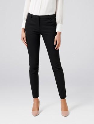 Forever New Faye Full Length Slim Pants - Black - 4