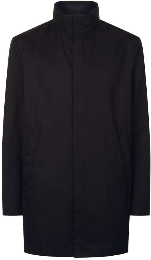 Giorgio Armani Funnel Neck Coat