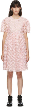 Cecilie Bahnsen Pink Tulle Tira Dress