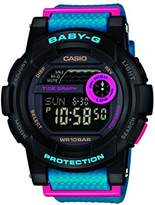Baby-G Women's Digital Watch with Resin Strap – BGD-140-1AER