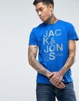 Jack and Jones T-Shirt with Chest Print