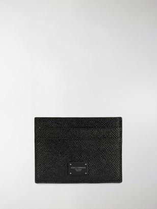 Dolce & Gabbana Logo Patch Cardholder