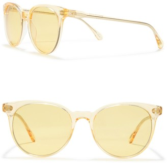 Raen Norie 53mm Rounded Retro Sunglasses
