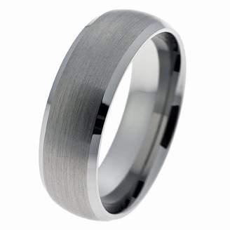 CORE by Schumann Design Wedding Ring, Tungsten Carbide, 8Mm Band Width - Size K