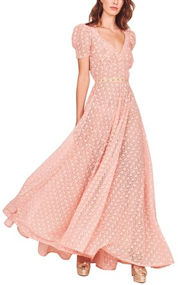 LoveShackFancy Castella Maxi Dress