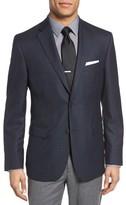 JB Britches Men's Classic Fit Check Wool Sport Coat