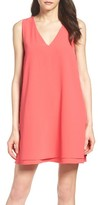 BB Dakota Women's 'Palma' Crepe Shift Dress