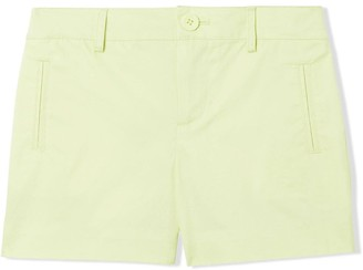 BURBERRY KIDS Embroidered Logo Shorts