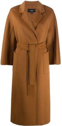 Arma Belted Wool/Cashmere Blend Coat