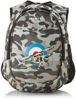 OBERSEE Obersee Camo Airplane Kids All-In-One Backpack with Integrated Cooler