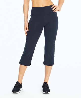 Zoey Marika Women's Active Pants BLK - Black 19'' Relaxed-Fit Tummy Control Capri Pants - Women