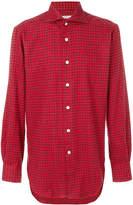 Kiton gingham shirt