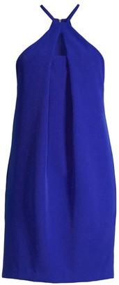 Trina Turk Bold Sleeveless Halter Dress
