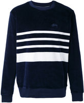 Stussy striped sweatshirt - men - Cotton/Polyester - S