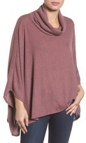 Caslon Women's Cowl Neck Poncho Top