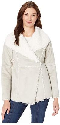 Dylan by True Grit Brigitte Shawl Collar Coat w/ Pockets (Mist) Women's Coat