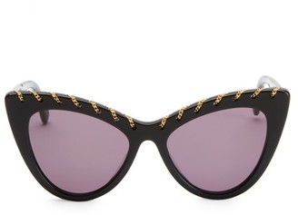 Stella McCartney 52MM Falabella Cat Eye Sunglasses