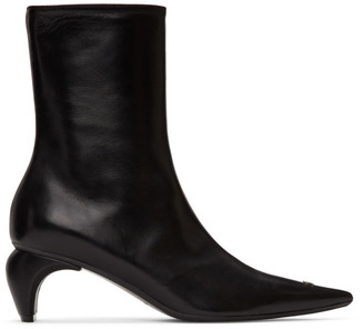 Misbhv Black Classic Ankle Boots