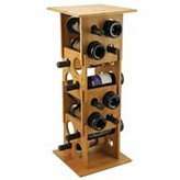 True Fabrications Deco Tower Stackable Wine Rack
