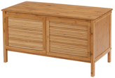 Creative Bath Ecostyle-Louver Bamboo Series 2-Door Storage Bench