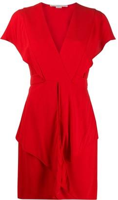 Stella McCartney tie waist short dress
